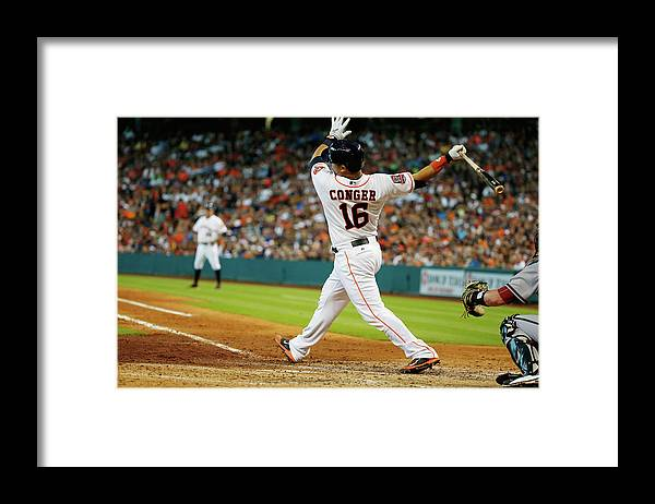 People Framed Print featuring the photograph Hank Conger by Scott Halleran