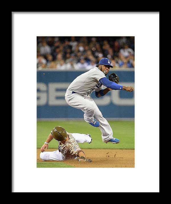 Double Play Framed Print featuring the photograph Hanley Ramirez by Denis Poroy