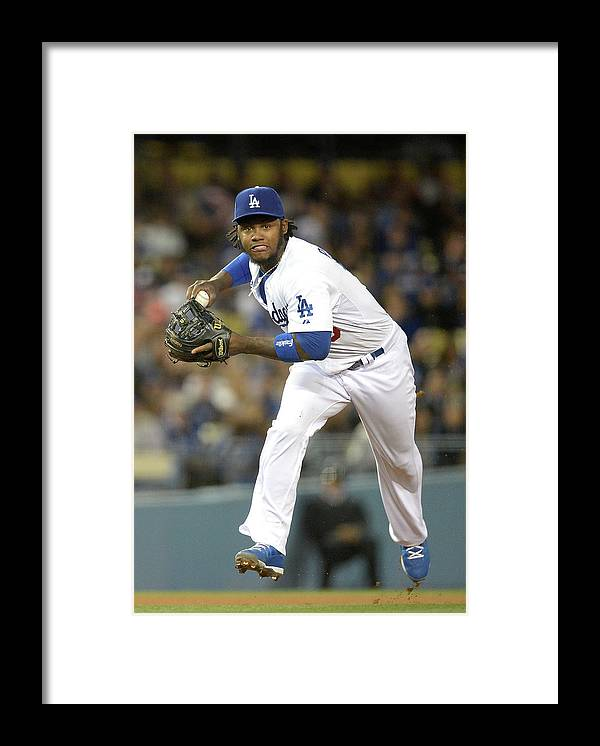 California Framed Print featuring the photograph Hanley Ramirez by Harry How