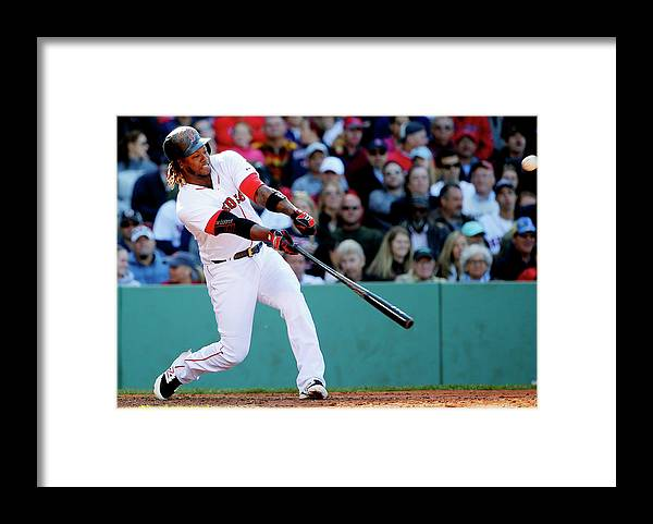 People Framed Print featuring the photograph Hanley Ramirez by Winslow Townson