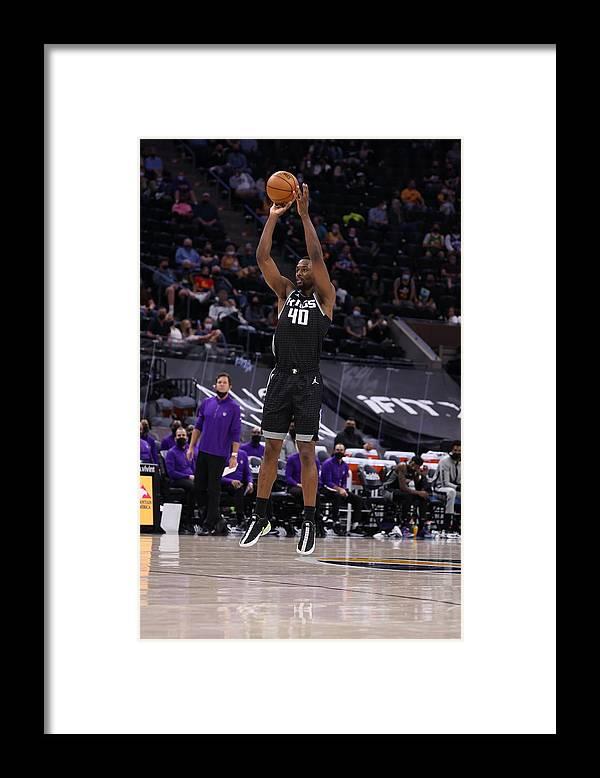 Nba Pro Basketball Framed Print featuring the photograph Harrison Barnes by Melissa Majchrzak