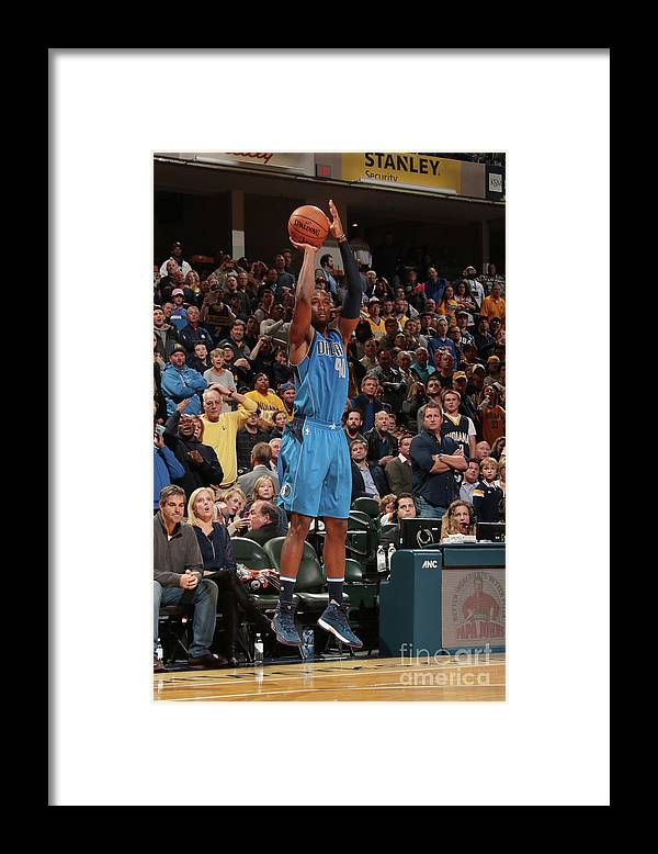 Nba Pro Basketball Framed Print featuring the photograph Harrison Barnes by Ron Hoskins