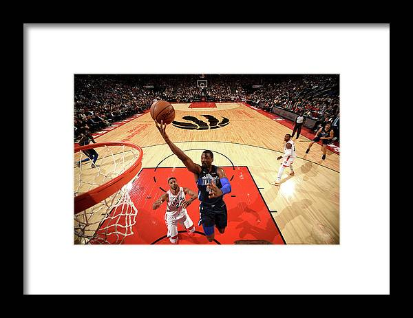 Nba Pro Basketball Framed Print featuring the photograph Harrison Barnes by Ron Turenne