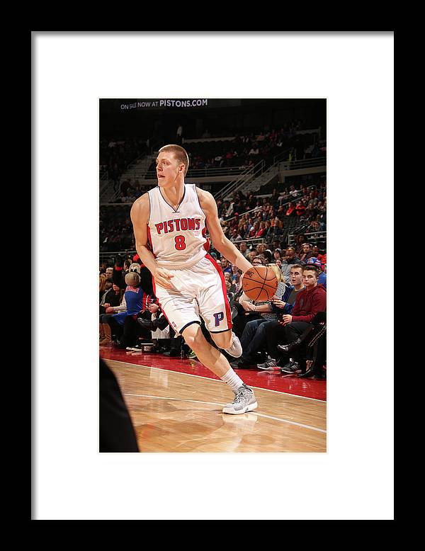 Nba Pro Basketball Framed Print featuring the photograph Henry Ellenson by Brian Sevald