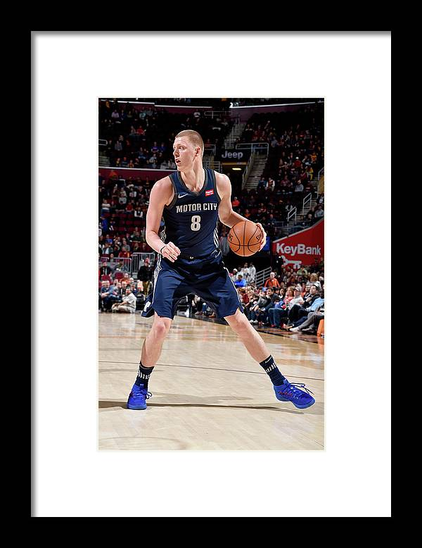 Nba Pro Basketball Framed Print featuring the photograph Henry Ellenson by David Liam Kyle