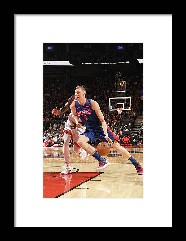 Nba Pro Basketball Framed Print featuring the photograph Henry Ellenson by Ron Turenne
