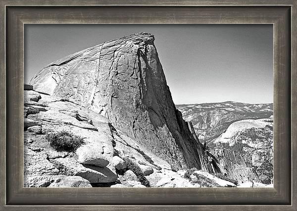 Hiking Half Dome by Ryan Scholl