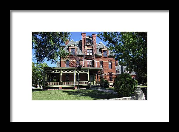 Architecture Framed Print featuring the photograph Hotel Florence South View by Cedric Hampton