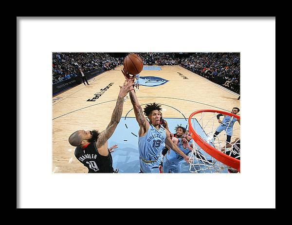 Nba Pro Basketball Framed Print featuring the photograph Houston Rockets v Memphis Grizzlies by Joe Murphy