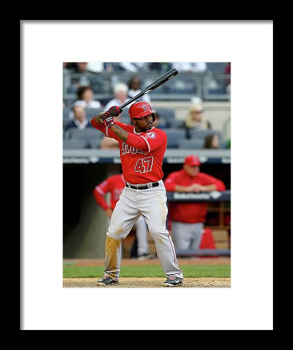 Ninth Inning Framed Print featuring the photograph Howie Kendrick by Elsa