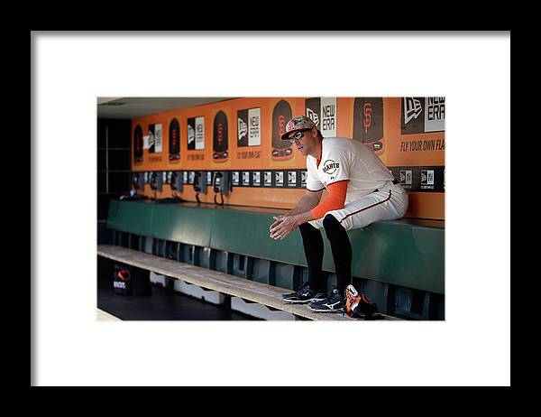 San Francisco Framed Print featuring the photograph Hunter Pence by Ezra Shaw