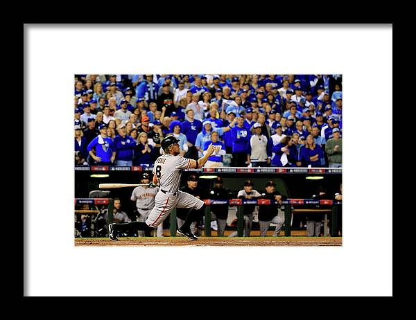 People Framed Print featuring the photograph Hunter Pence by Rob Carr