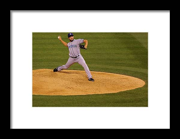 Ninth Inning Framed Print featuring the photograph Huston Street by Justin Edmonds
