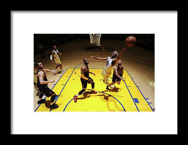 Playoffs Framed Print featuring the photograph Ian Clark by Garrett Ellwood