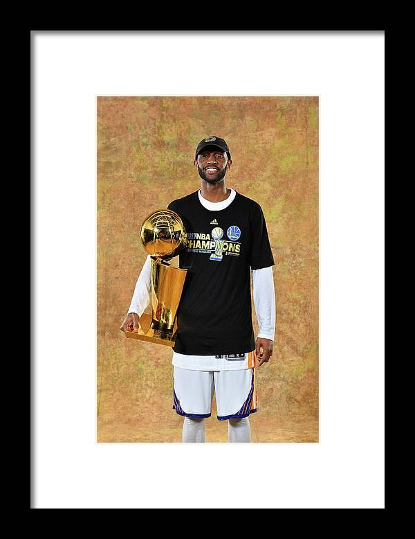 Playoffs Framed Print featuring the photograph Ian Clark by Jesse D. Garrabrant