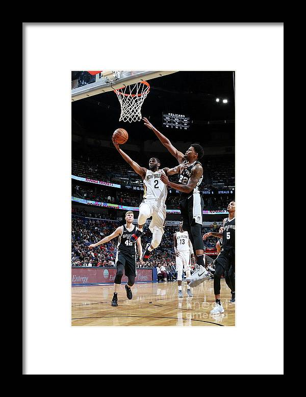 Smoothie King Center Framed Print featuring the photograph Ian Clark by Layne Murdoch Jr.