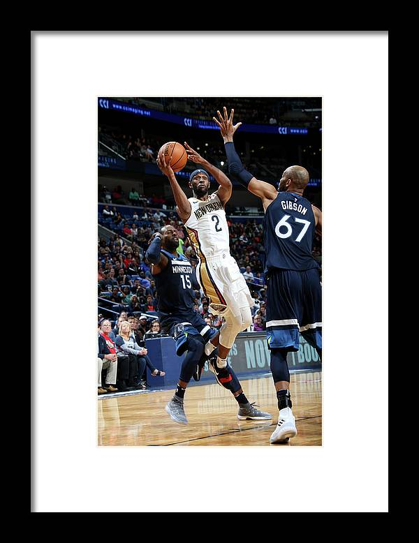 Smoothie King Center Framed Print featuring the photograph Ian Clark by Layne Murdoch