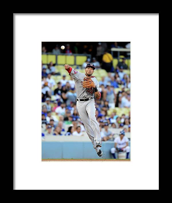 People Framed Print featuring the photograph Ian Desmond by Harry How