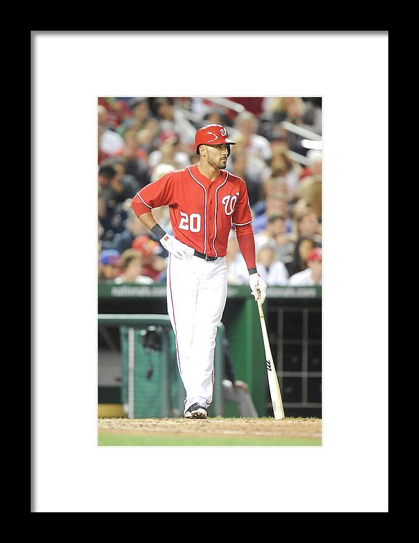 Looking Framed Print featuring the photograph Ian Desmond by Mitchell Layton
