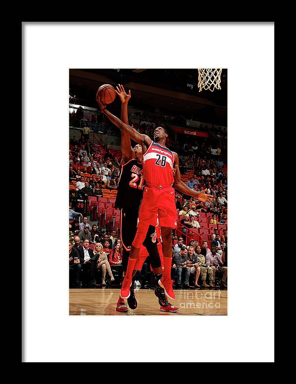 Nba Pro Basketball Framed Print featuring the photograph Ian Mahinmi by Issac Baldizon