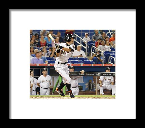 Second Inning Framed Print featuring the photograph Ichiro Suzuki by Joe Skipper