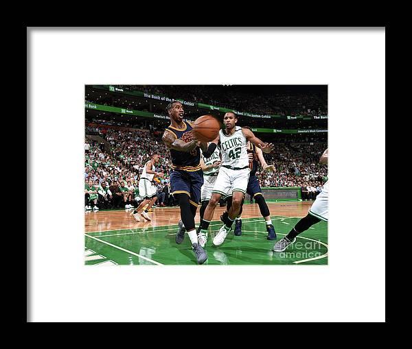 Playoffs Framed Print featuring the photograph Iman Shumpert by Brian Babineau