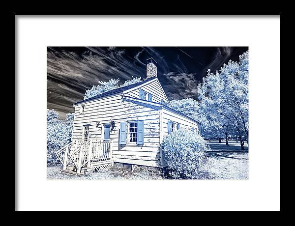 Infrared House at East Jersey Olde Towne Village by John Rizzuto