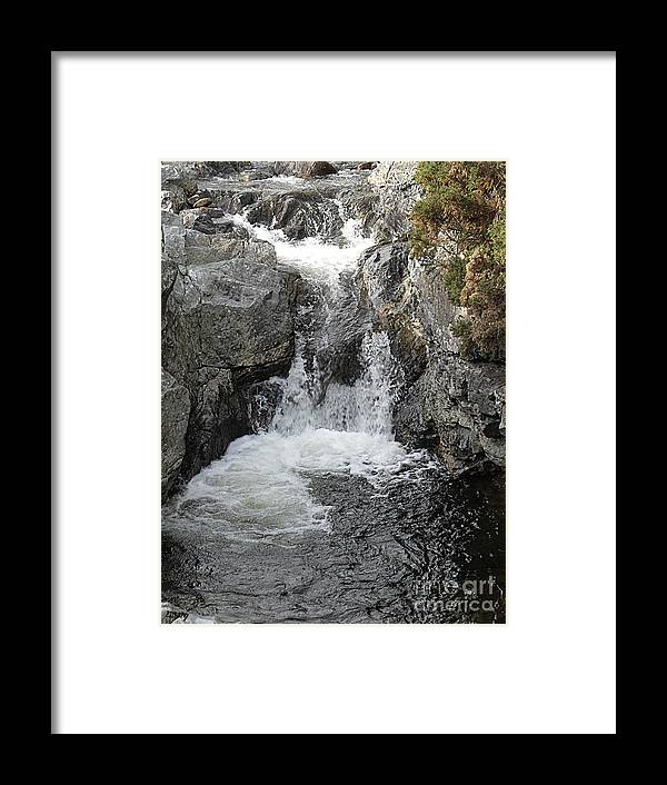 Ireland Framed Print featuring the photograph Irish Waterfall by Patrick J Murphy