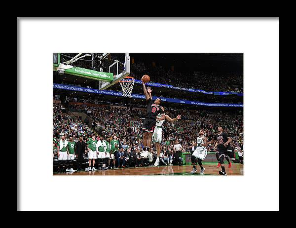 Playoffs Framed Print featuring the photograph Isaiah Canaan by Brian Babineau