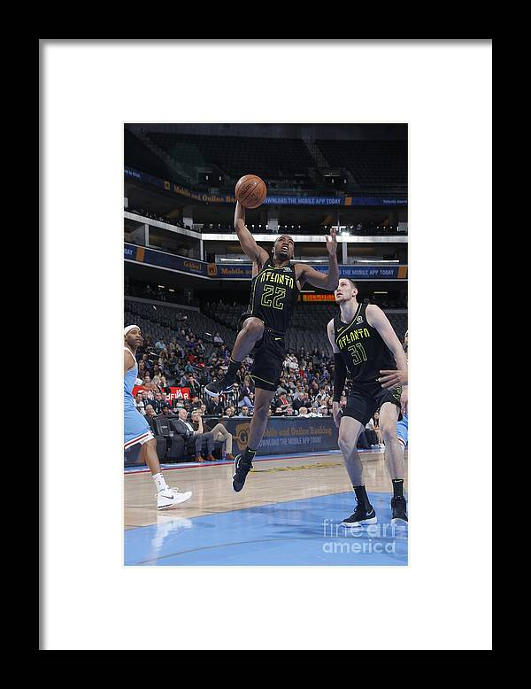 Nba Pro Basketball Framed Print featuring the photograph Isaiah Taylor by Rocky Widner