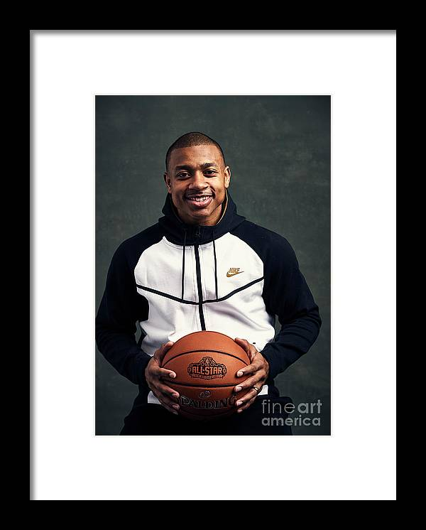 Event Framed Print featuring the photograph Isaiah Thomas by Jennifer Pottheiser