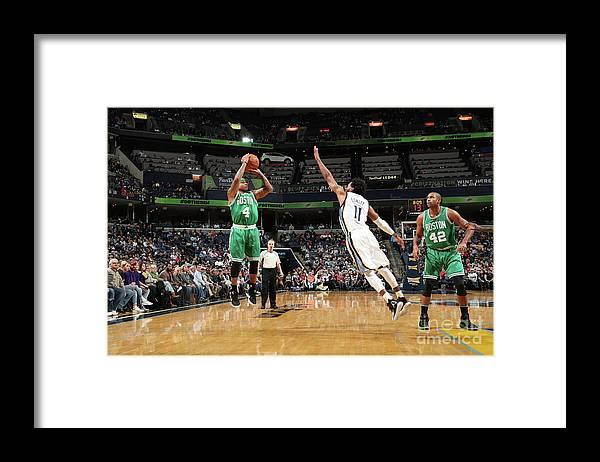 Nba Pro Basketball Framed Print featuring the photograph Isaiah Thomas by Joe Murphy