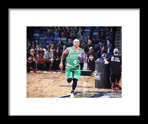 Event Framed Print featuring the photograph Isaiah Thomas by Nathaniel S. Butler