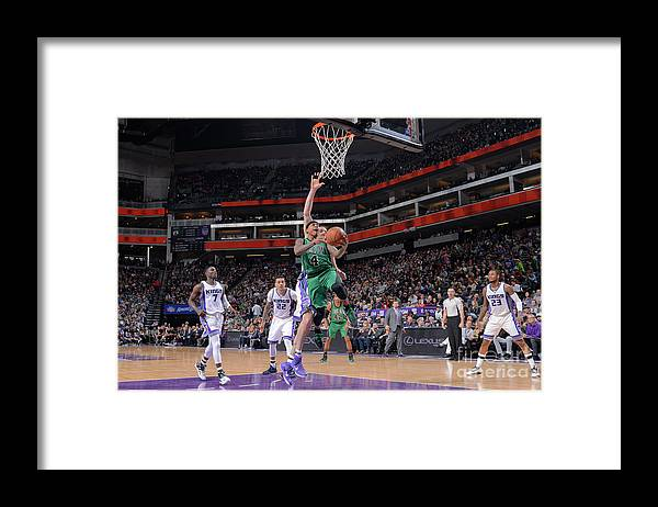 Nba Pro Basketball Framed Print featuring the photograph Isaiah Thomas by Rocky Widner