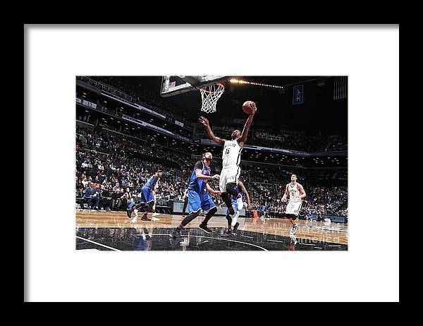 Nba Pro Basketball Framed Print featuring the photograph Isaiah Whitehead by Nathaniel S. Butler
