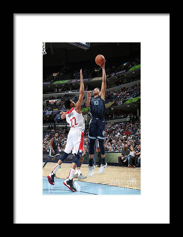 Nba Pro Basketball Framed Print featuring the photograph Ivan Rabb by Joe Murphy