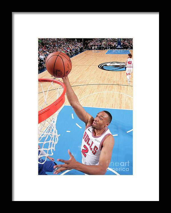Nba Pro Basketball Framed Print featuring the photograph Jabari Parker by Glenn James