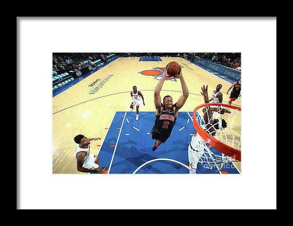Nba Pro Basketball Framed Print featuring the photograph Jabari Parker by Nathaniel S. Butler