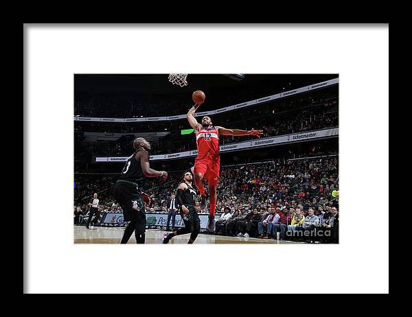 Nba Pro Basketball Framed Print featuring the photograph Jabari Parker by Stephen Gosling