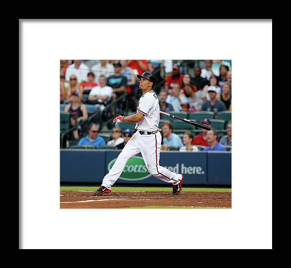 Atlanta Framed Print featuring the photograph Jace Peterson by Mike Zarrilli