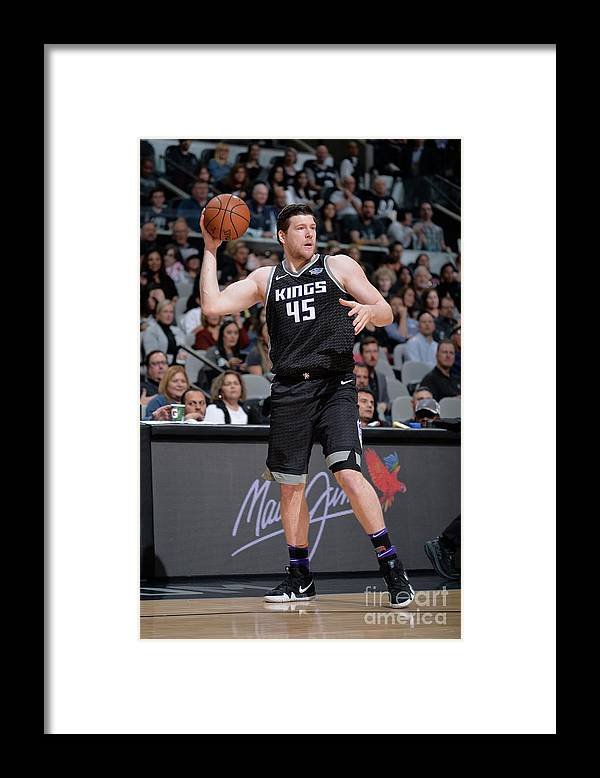 Nba Pro Basketball Framed Print featuring the photograph Jack Cooley by Mark Sobhani