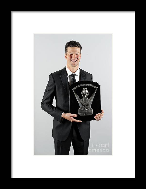 Jacob Degrom Framed Print featuring the photograph Jacob Degrom by Alex Trautwig