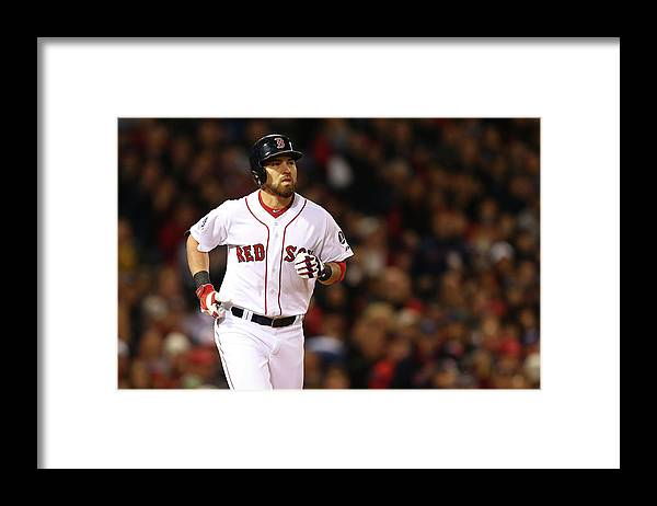 American League Baseball Framed Print featuring the photograph Jacoby Ellsbury by Elsa