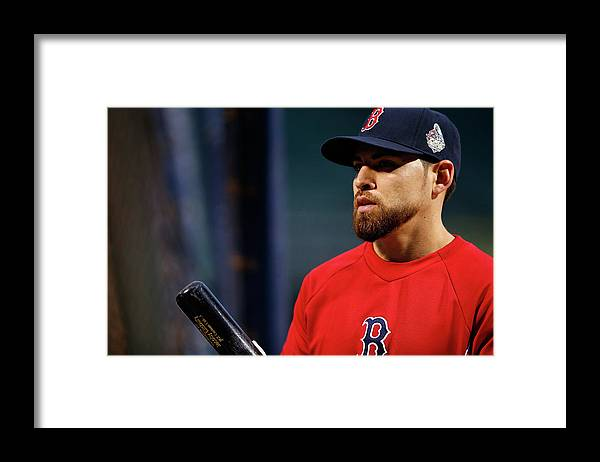 American League Baseball Framed Print featuring the photograph Jacoby Ellsbury by Jared Wickerham