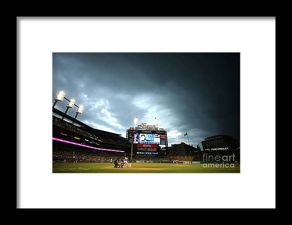 People Framed Print featuring the photograph Jacoby Jones by Gregory Shamus