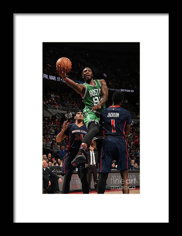 Nba Pro Basketball Framed Print featuring the photograph Jae Crowder by Chris Schwegler
