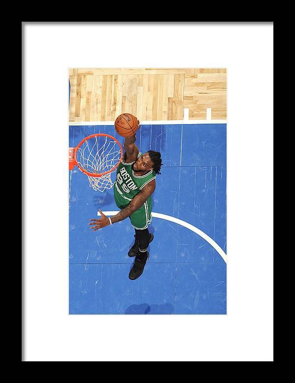 Nba Pro Basketball Framed Print featuring the photograph Jae Crowder by Fernando Medina