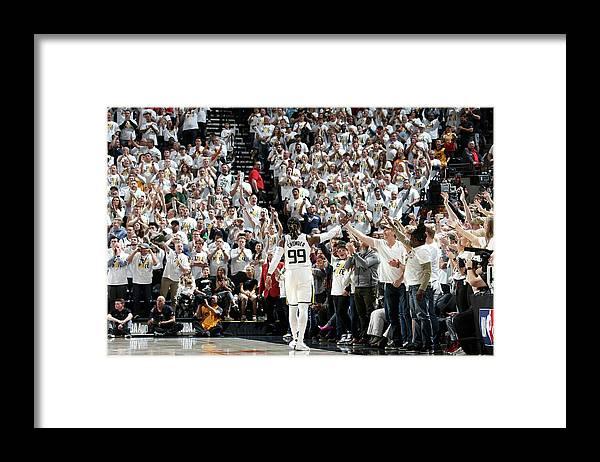 Playoffs Framed Print featuring the photograph Jae Crowder by Melissa Majchrzak