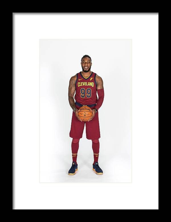 Media Day Framed Print featuring the photograph Jae Crowder by Michael J. Lebrecht Ii