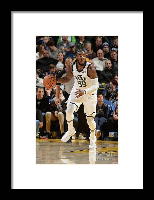 Nba Pro Basketball Framed Print featuring the photograph Jae Crowder by Noah Graham